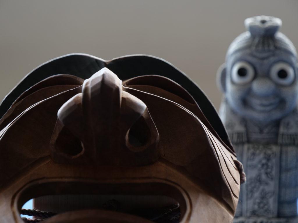 仮面と仏像
