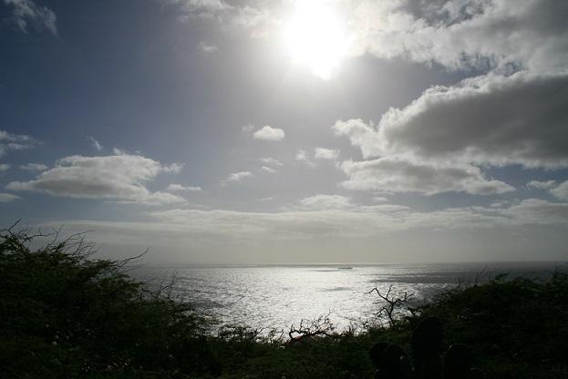 ハワイの空と雲