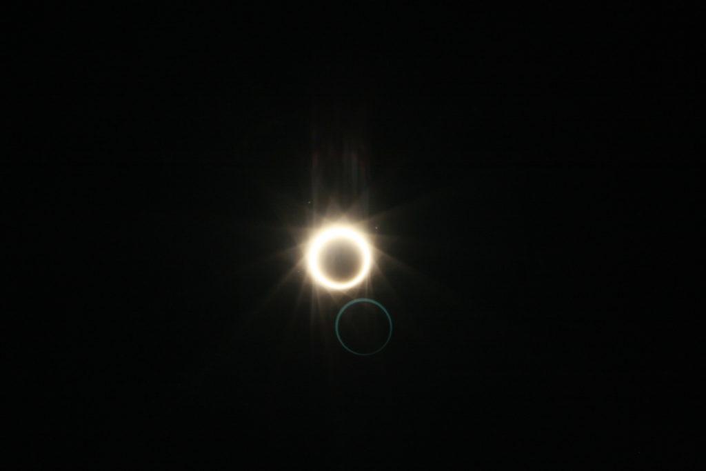 皆既日食 2012年5月21日