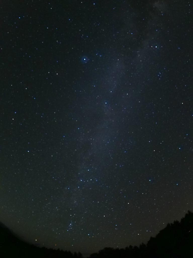 南富良野から見た天の川