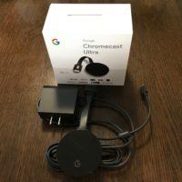 Google の Chromecast Ultra