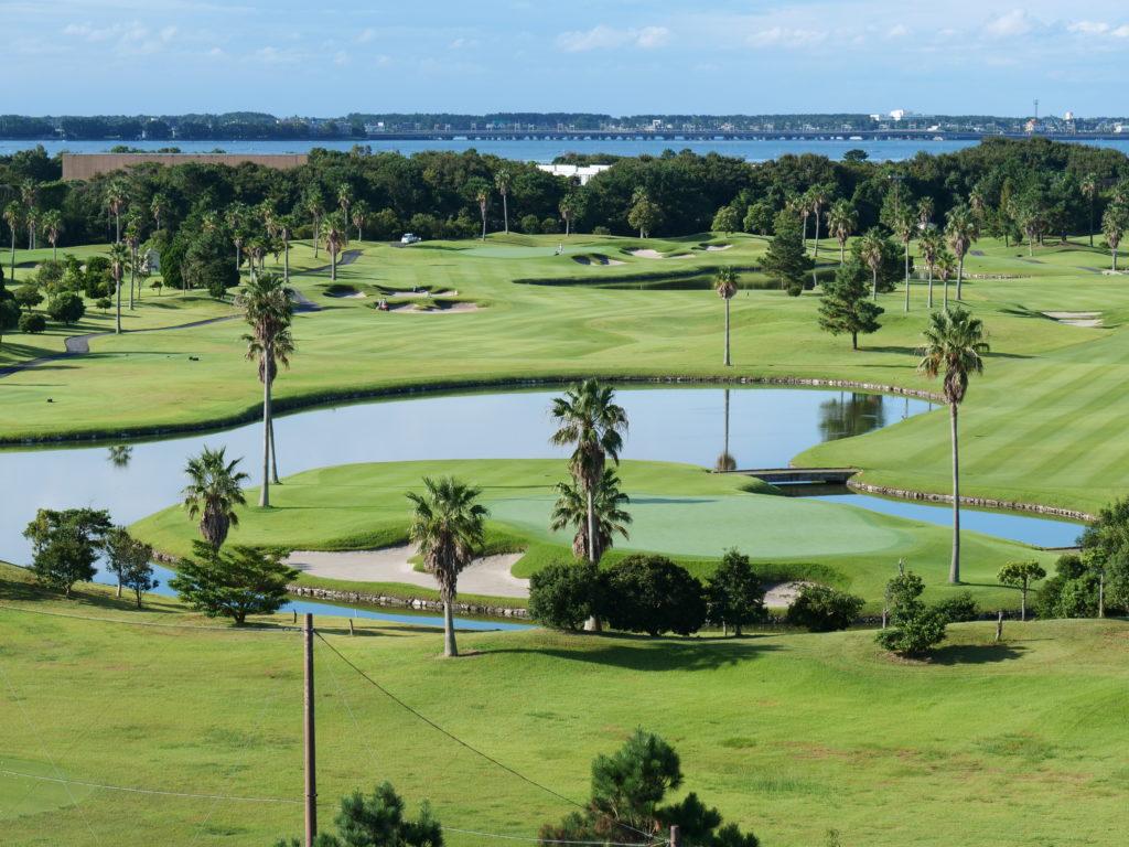 エクシブ浜名湖のゴルフ場