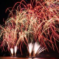 美浜町小野浦の花火