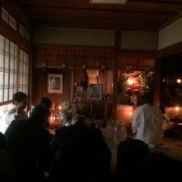 松川晃月師の昇天祈年祭 2016年3月