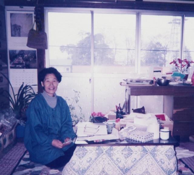 山田征さん(ご自宅にて、1990年代中頃)