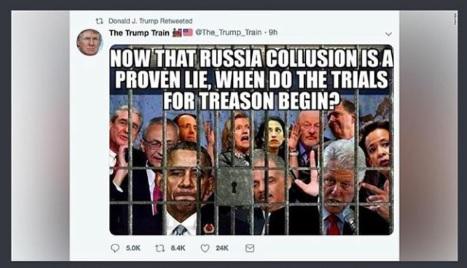 ロシア疑惑が嘘と証明された現在、いつ反逆罪の裁判は始まるのか?