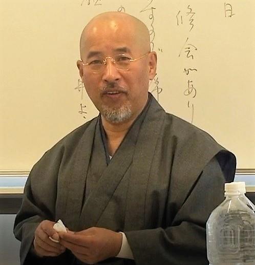 在りし日の松川晃月師
