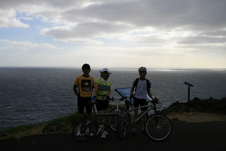 オアフ島にて、サイクリング