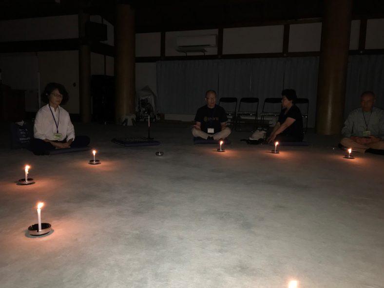 キャンドル瞑想