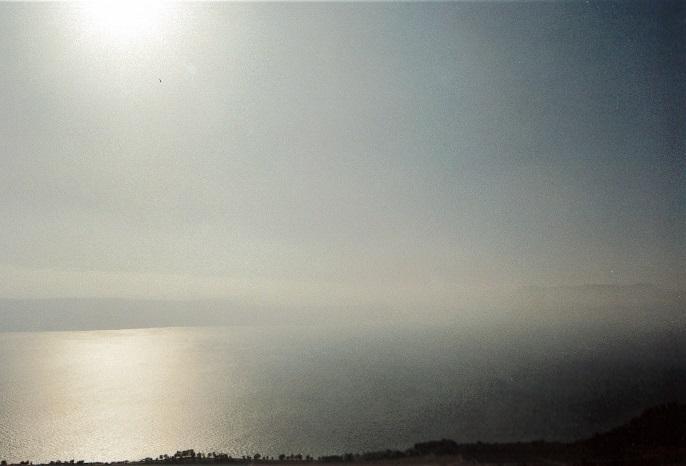 イエスが山上の垂訓を行ったガリラヤ湖