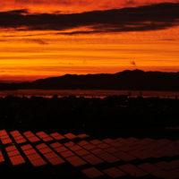エクシブ浜名湖の夕日