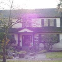 カナダ バンクーバー市内の邸宅