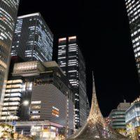 名古屋駅前の風景