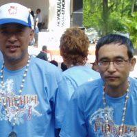 ホノルルマラソン記念撮影