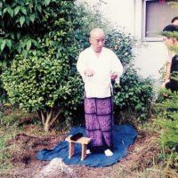 2000年の産土之儀 自宅にて