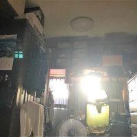 室内にそそぐ太陽の光
