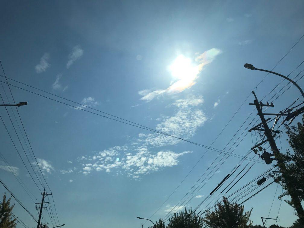 朱雀の雲が現れる