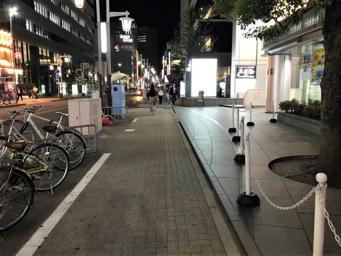 名古屋駅前にある木曽路
