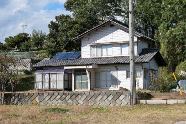 高橋信次先生の生地に立つ家