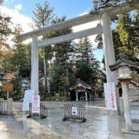 白山比咩神社の鳥居