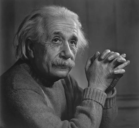 アルベルト・アインシュタインの肖像