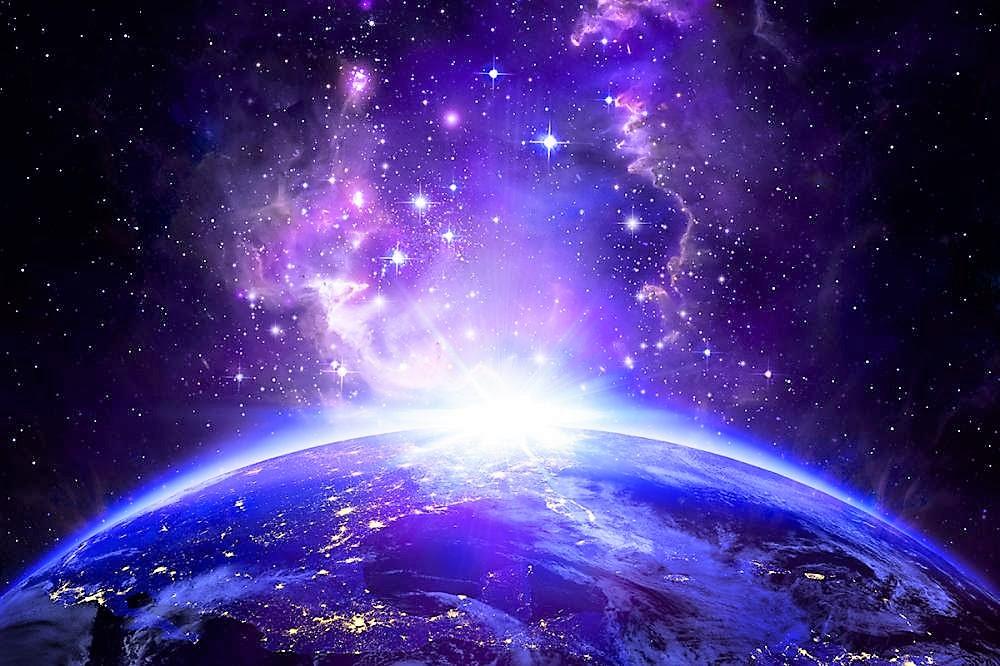 地上の光と宇宙エネルギー