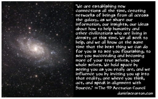 Networks of Beings from all Across the Galaxy