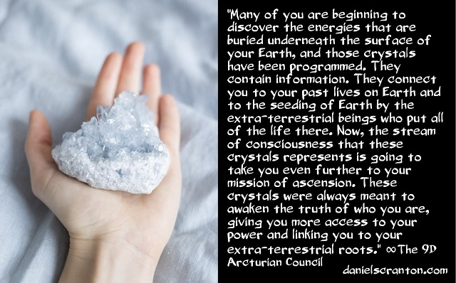 You're Accessing Crystals from Ancient Civilizations & E.T.s