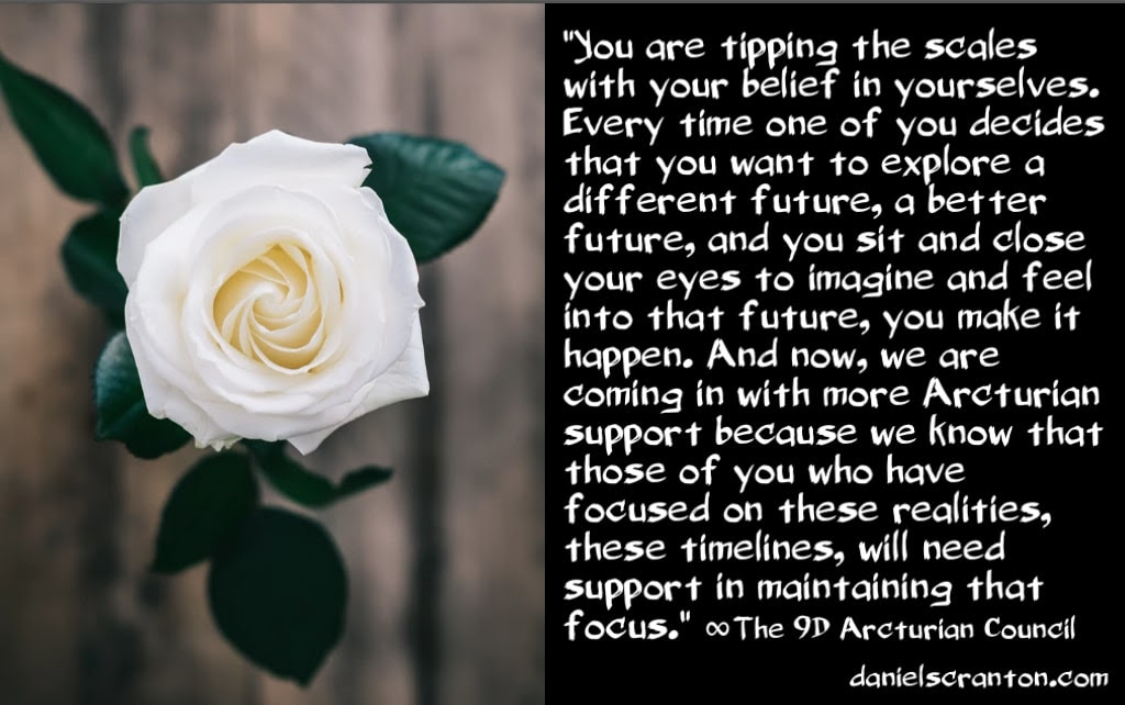 Arcturian Support for Humanity's New Future