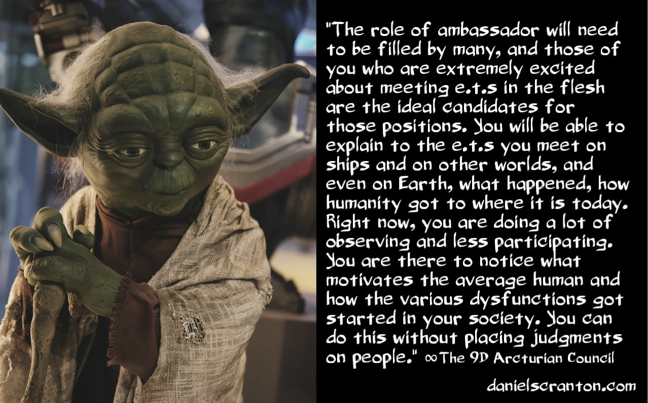 Your Mission of Becoming Human/ET Ambassadors
